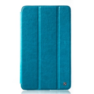 HOCO Crystal Series Retro Leather Cover for Samsung Galaxy Tab Pro 8.4 T320 T321 T325 - Blue