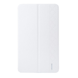 White USAMS Starry Sky Series Smart Leather Cover for Samsung Galaxy Tab Pro 8.4 T320 T321 T325