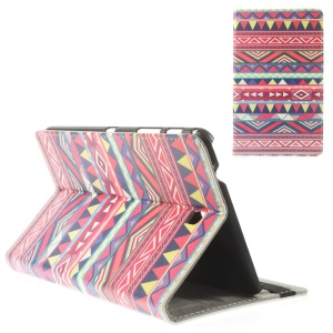 Geometric Tribal Leather Stand Cover for Samsung Galaxy Tab 4 8.0 T330 T335