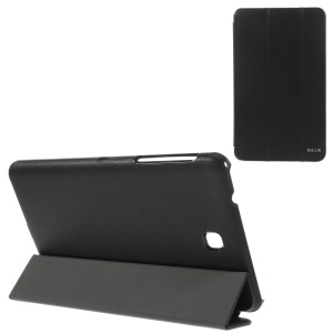 BELK Tri-fold Stand Folio Smart Leather Case for Samsung Galaxy Tab 4 8.0 T330 T331 T335 - Black