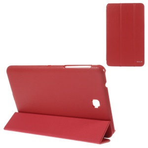 BELK Tri-fold Stand Folio Smart Leather Case for Samsung Galaxy Tab 4 8.0 T330 - Red
