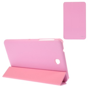 BELK Tri-fold Stand Folio Smart Leather Cover for Samsung Galaxy Tab 4 8.0 T331 - Pink