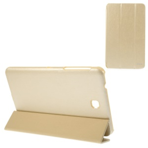 BELK Tri-fold Stand Smart Leather Cover for Samsung Galaxy Tab 4 8.0 T331 - Champagne