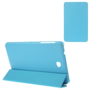 BELK Tri-fold Stand Smart Leather Cover for Samsung Galaxy Tab 4 8.0 T335 - Blue