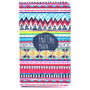Tribal Tribe Hakuna Matata Stand Leather Smart Case for Samsung Galaxy Tab 4 8.0 T330 T331 T335