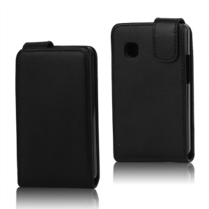 Magnetic PU Leather Vertical Flip Case for LG T385