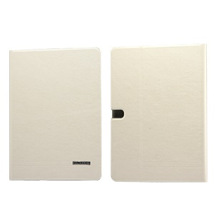 Beige KLD KA Series Leather Case w/ Card Slots for Samsung Galaxy Tab Pro 10.1 T520 T525