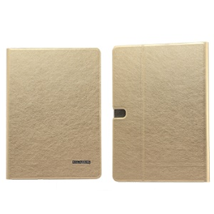 Gold KLD KA Series Leather Cover w/ Stand for Samsung Galaxy Tab Pro 10.1 T520 T525
