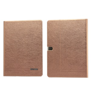 Coffee KLD KA Series Leather Shell w/ Stand for Samsung Galaxy Tab Pro 10.1 T520 T525