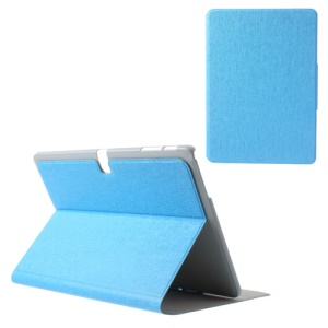 Blue Oracle Grain Card Slots Leather Tablet Case for Samsung Galaxy Tab Pro 10.1 T520 T525 P600