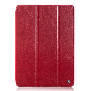 HOCO Crystal Series Retro Leather Skin Case for Samsung Galaxy Tab Pro 10.1 T520 T525 - Red