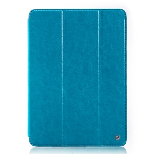 HOCO for Samsung Galaxy Tab Pro 10.1 T520 T525 Crystal Series Retro Leather Shell - Blue