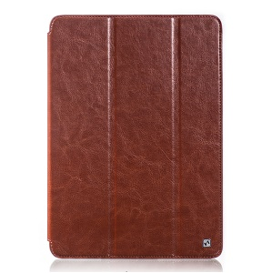 HOCO for Samsung Galaxy Tab Pro 10.1 T520 T525 Crystal Series Retro Leather Tablet Case - Brown