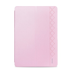 Pink USAMS Starry Sky Series Smart Leather Stand Cover for Samsung Galaxy Tab Pro 10.1 T520 T525