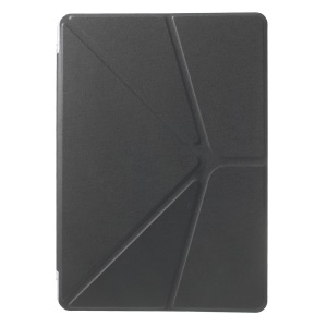 Origami Stand Leather Flip Case for Samsung Galaxy Tab Pro 10.1 T520 T525 - Grey