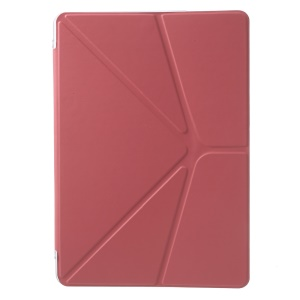 Origami Stand Leather Case for Samsung Galaxy Tab Pro 10.1 T520 T525 - Watermelon Red