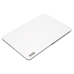 White ROCK Elegant Series Smart Tri-fold Leather Stand Case for Samsung Galaxy Tab Pro 10.1 T520 T525