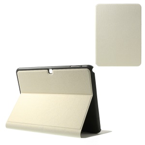 For Samsung Galaxy Tab 4 10.1 T530 T531 T535 Graffiti Lines Leather Stand Cover Case - White