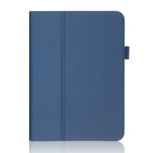 Blue for Samsung Galaxy Tab 4 10.1 T531 T530 T535 Folio Stand Leather Case w/ Card Slots & Handstrap