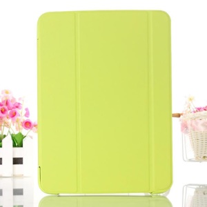 Green Smart Leather Case w/ Tri-fold Stand for Samsung Galaxy Tab 4 10.1 T530 T531 T535