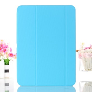 Baby Blue Smart Leather Cover w/ Tri-fold Stand for Samsung Galaxy Tab 4 10.1 T530 T531 T535