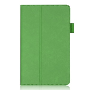 Green for Samsung Galaxy Tab S 8.4 T700 T705 Stand Leather Case w/ Elastic Hand Strap & Card Slots