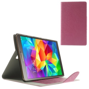 Rose for Samsung Galaxy Tab S 8.4 T700 T705 Scribbled Lines Leather Stand Card Holder Case