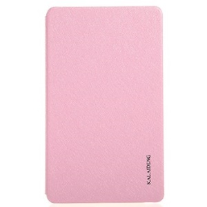 Pink KLD Iceland Series Folio Stand Smart Leather Tablet Case for Samsung Galaxy Tab S 8.4 T700 T705