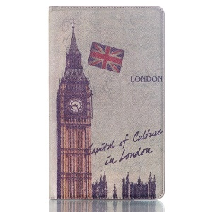Big Ben for Samsung Galaxy Tab S 8.4 T700 T705 Smart PU Leather Folio Cover w/ Stand