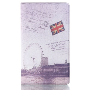 The London Eye for Samsung Galaxy Tab S 8.4 T700 T705 Smart Leather Folio Shell w/ Stand