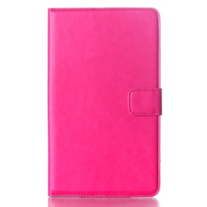 Rose Oil Buffed Smart Leather Case w/ Wallet & Stand for Samsung Galaxy Tab S 8.4 T700 T705