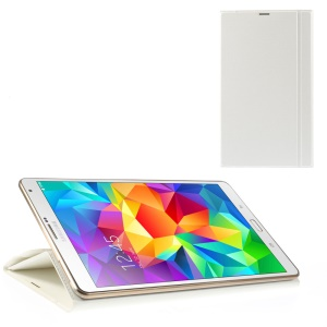 Dream Mesh Smart Leather Stand Case for Samsung Galaxy Tab S 8.4 T700 T705 - White