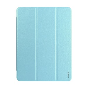 Baby Blue USAMS Starry Sky Series Smart Stand Leather Case for Samsung Galaxy Tab S 10.5 T800 T805