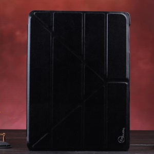 Black KLX Enland Series Origami Leather Case for Samsung Galaxy Tab S 10.5 T800 T805