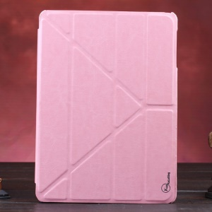 Pink KLX Enland Series Origami Leather Case for Samsung Galaxy Tab S 10.5 T800 T805