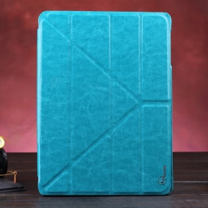 Blue KLX Enland Series for Samsung Galaxy Tab S 10.5 T800 T805 Origami Leather Cover