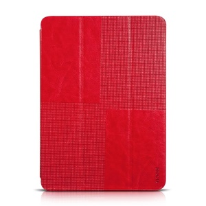HOCO Retro Series Tri-fold Stand Leather Case for Samsung Galaxy Tab S 10.5 T800 T805 - Red