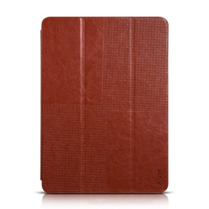 HOCO Retro Series Tri-fold Stand Leather Cover for Samsung Galaxy Tab S 10.5 T800 T805 - Brown