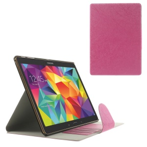 Rose for Samsung Galaxy Tab S 10.5 T805 Scribbled Lines Leather Stand Card Holder Cover