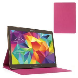 Rose Sand-like Texture Smart Leather Stand Shell for Samsung Galaxy Tab S 10.5-inch T800