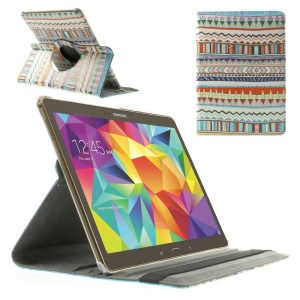 Tribe Waves PU Leather 360 Stand Rotary Case for Samsung Galaxy Tab S 10.5-inch T800 T805