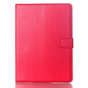 Oil Skin Smart Leather Case Card Holder for Samsung Galaxy Tab S 10.5 T800 T805 - Red