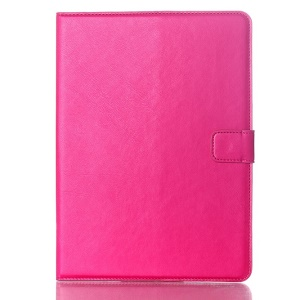 Oil Skin Smart Leather Stand Cover for Samsung Galaxy Tab S 10.5 T800 T805 - Rose