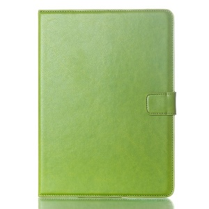 Oil Skin Smart PU Leather Flip Case for Samsung Galaxy Tab S 10.5 T800 T805 - Green
