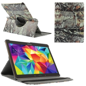 Tree Branches Leather Smart Case w/ 360 Degree Rotary Stand for Samsung Galaxy Tab S 10.5 T800 T805