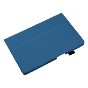 Baby Blue Lychee Skin Stand Leather Case for Sony Xperia Z2 Tablet 10.1 inch