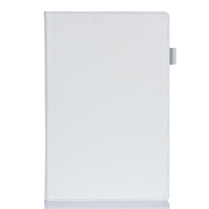 White Litchi Skin Leather Stand Cover for Sony Xperia Z2 Tablet 10.1 inch