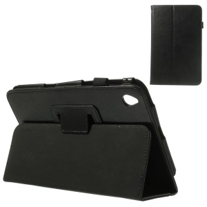 Black Crazy Horse Leather Flip Case with Stand for Acer Iconia W4-820