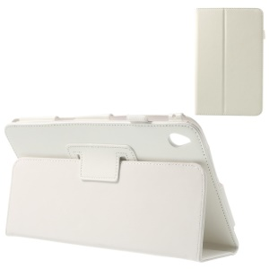 White Crazy Horse Leather Flip Case with Stand for Acer Iconia W4-820