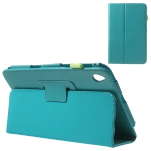 Blue for Acer Iconia W4-820 Crazy Horse Leather Flip Cover with Stand